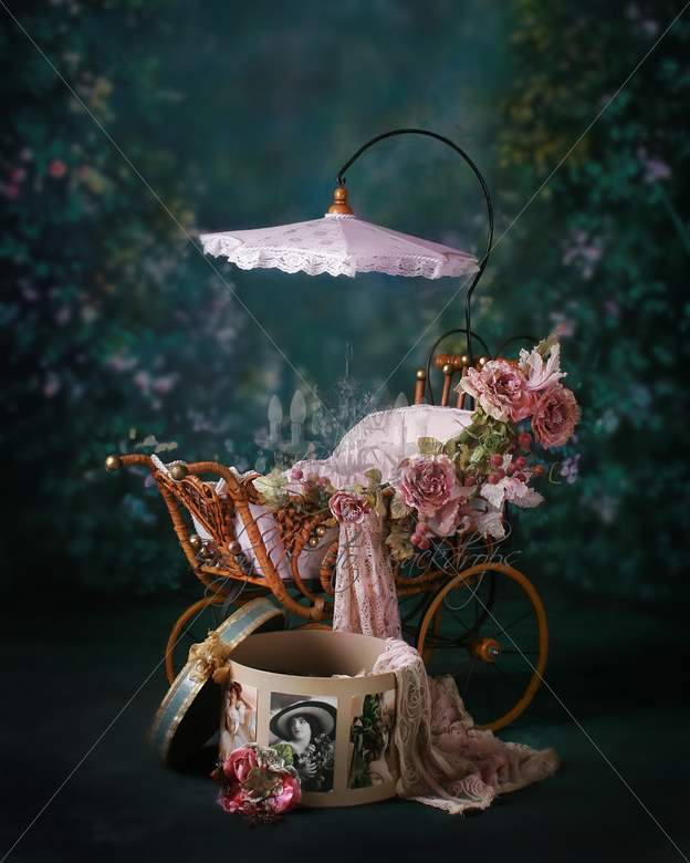 ... _cane_pram_with_hatbox_Digital_Photography_Backgrounds_and_Props.jpg